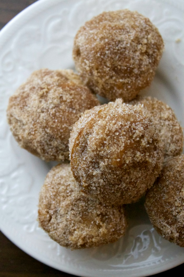 The Best Pumpkin Donut Holes Recipe on the Internet! Cinnamon Sugar Pumpkin Donuts