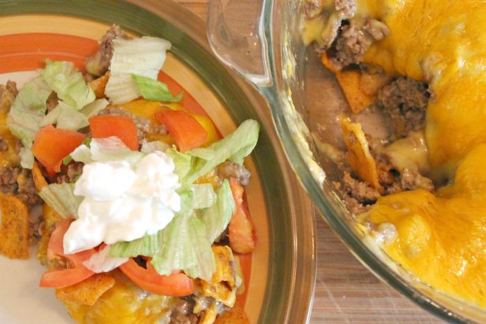 Easy Casserole Dish with Fritos