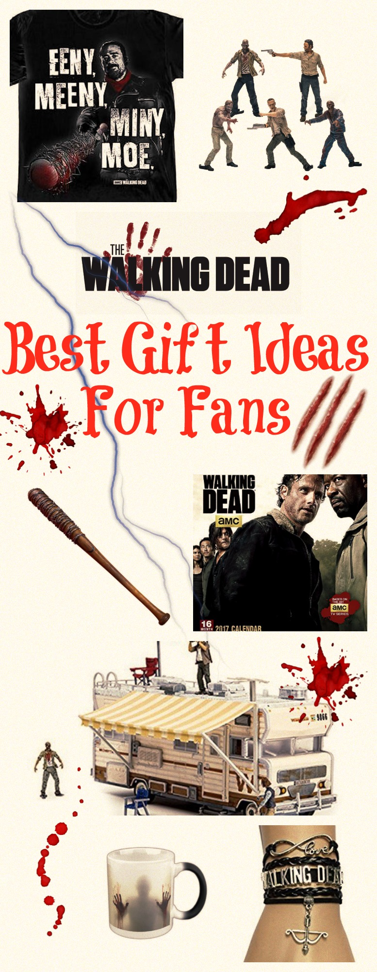 best gifts for the walking dead fans