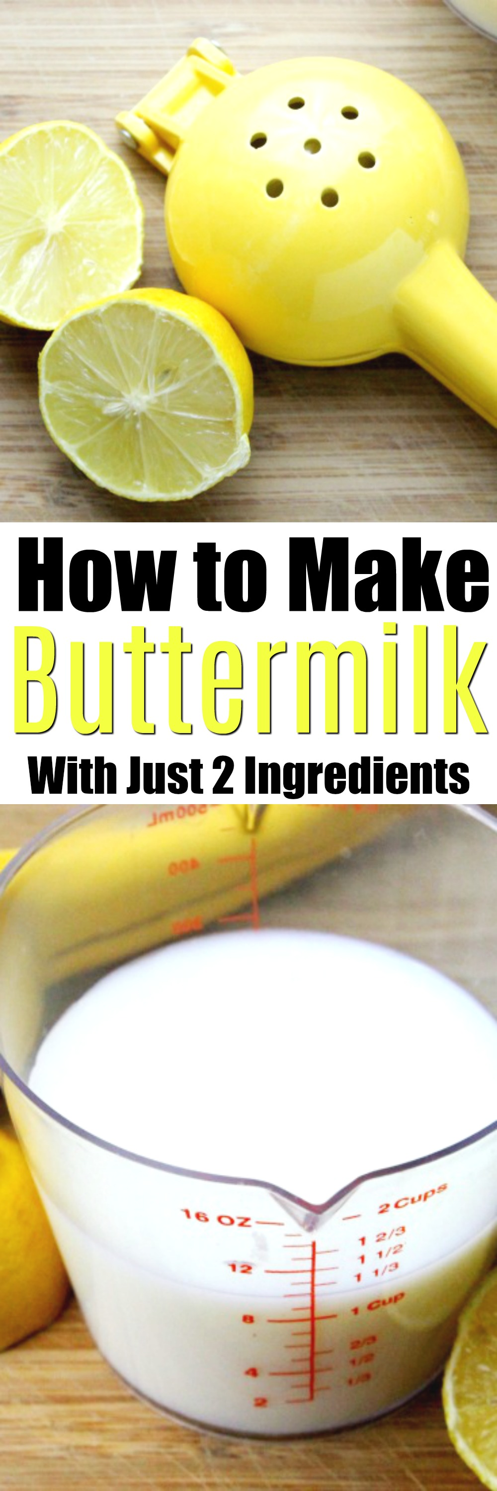 Homemade Buttermilk