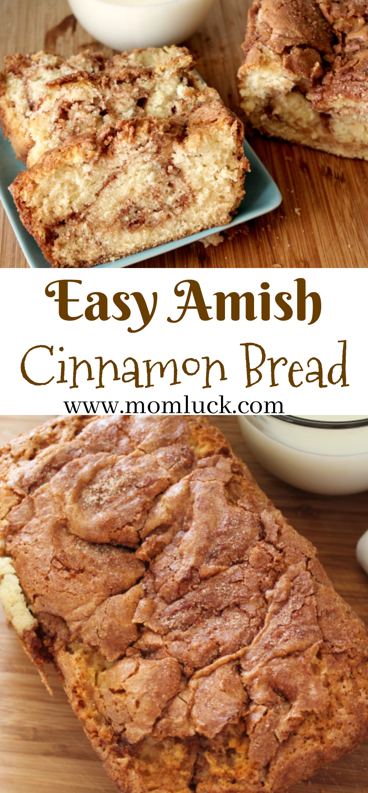 Easy Amish Cinnamon Bread Recipe-Mom Luck Blog