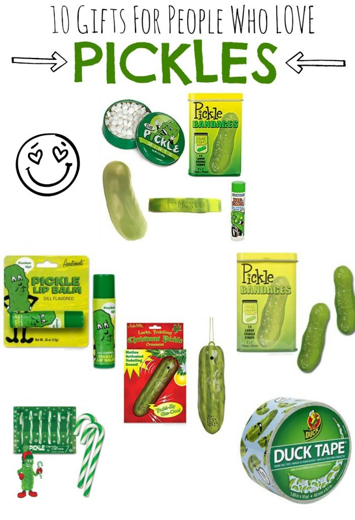 gifts for people who love pickles