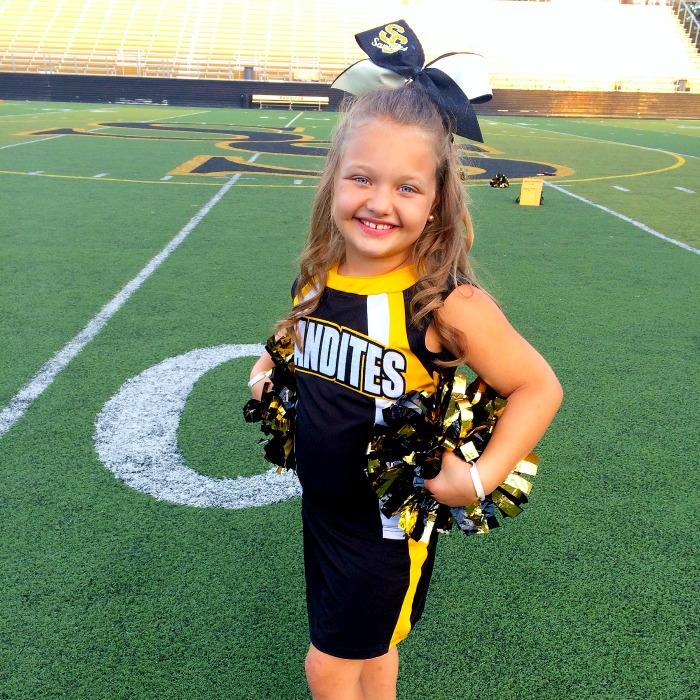 Cheerleaders Hair Bows