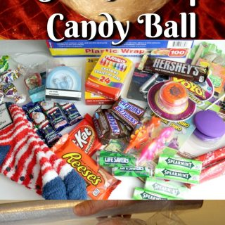 Have You Heard Of The Saran Wrap Candy Ball Game?