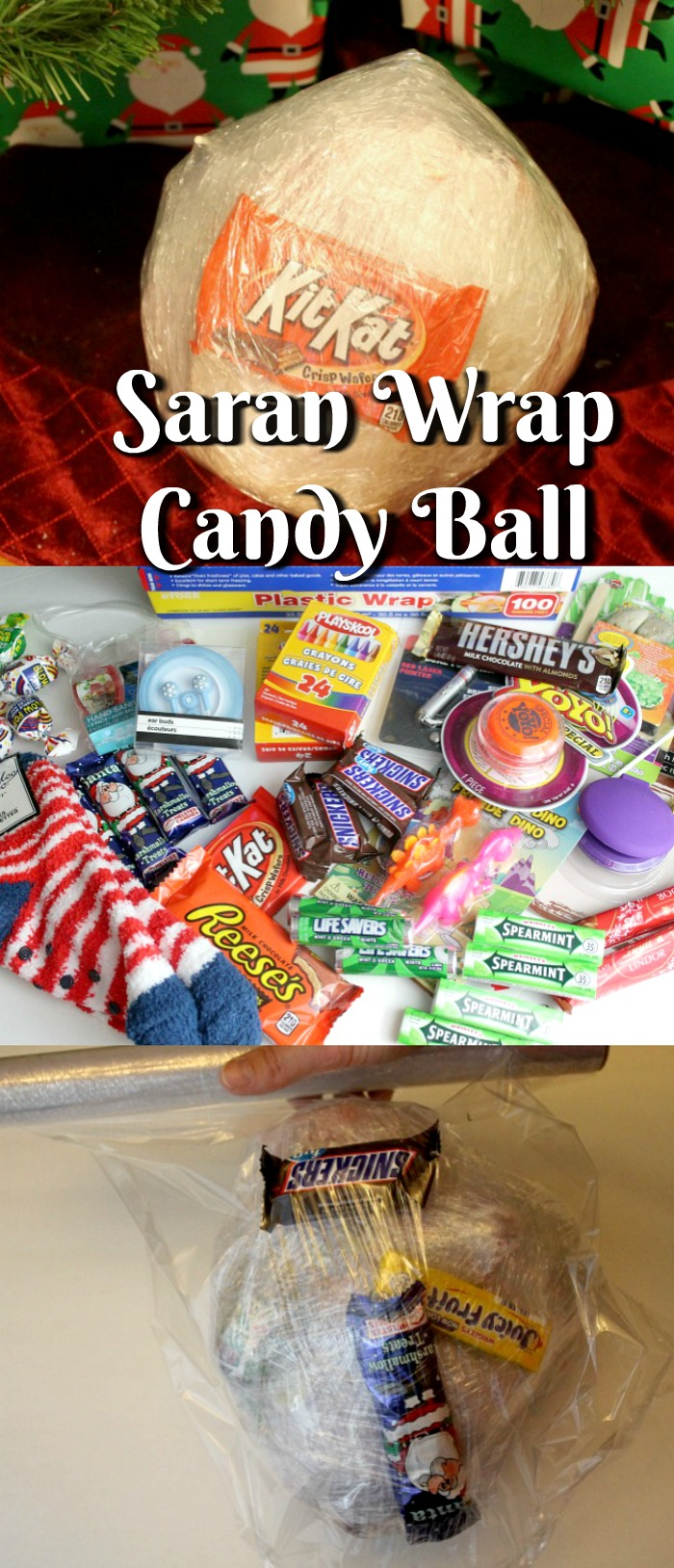 Have You Heard Of The Saran Wrap Candy Ball Game