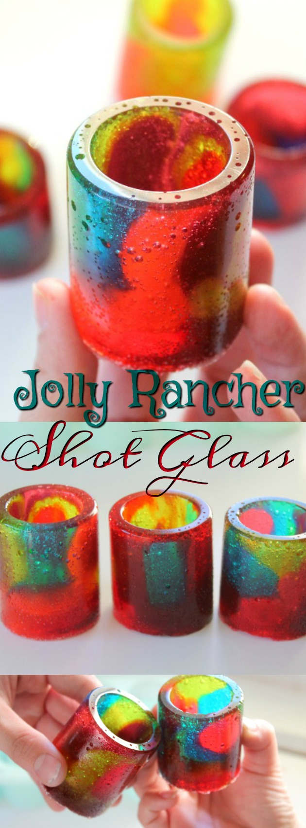 How To Make Jolly Rancher Shot Glasses