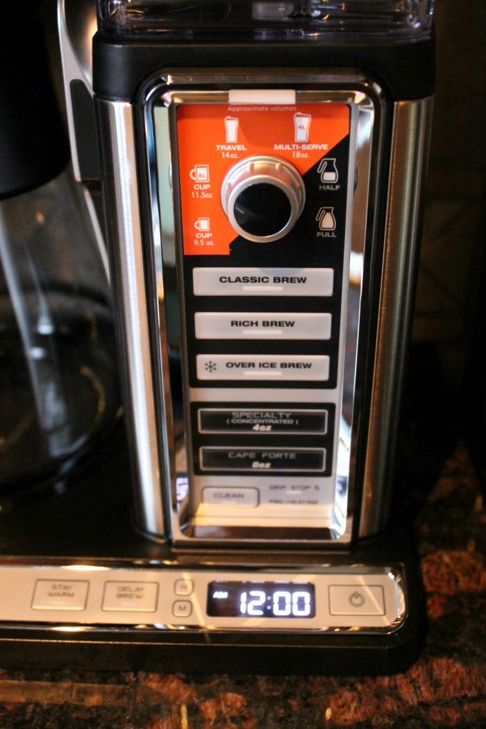 Ninja Coffee Bar Glass carafe system Ninja Coffee Bar Auto Iq One Touch Intelligence