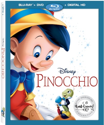 Disney Pinocchio Full Movie 2017 Signature Collection DVD Now Available