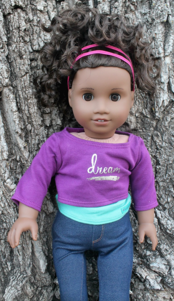 2017 American Girl Doll Gabriela