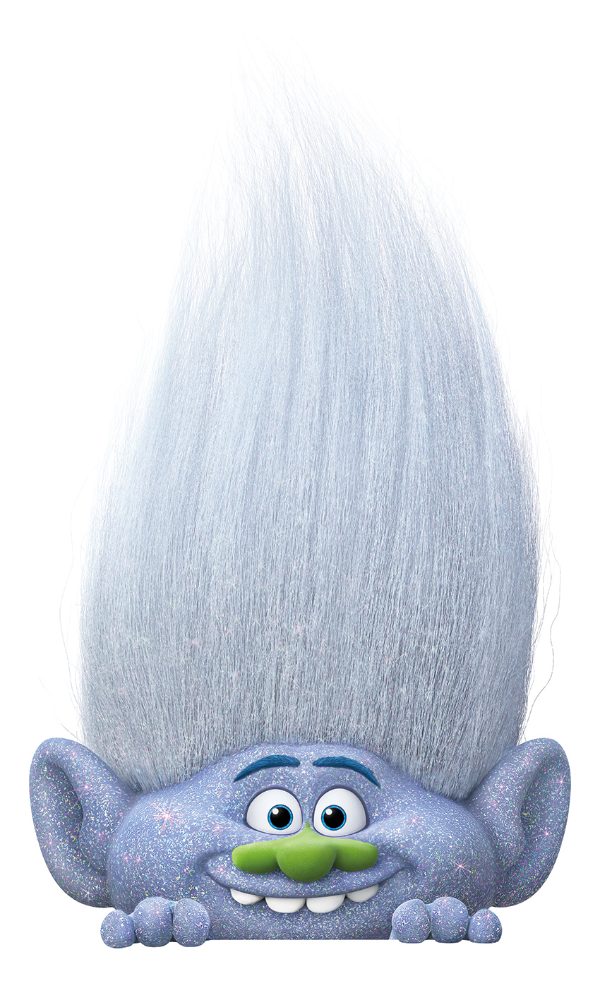 Dreamworks Trolls Glitterific Guy Diamond Glitter Glue