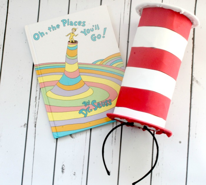 homemade Dr Seuss Hats