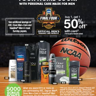 March Madness + Walgreens Means It's Time To Stock Up!