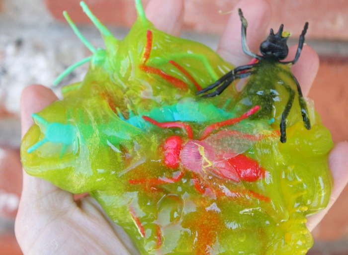 Children Slime Recipe Bug Slime
