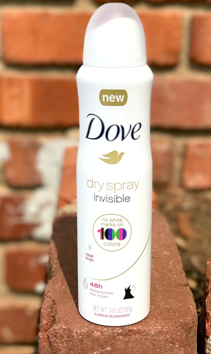 No Stain Deodorant DOVE Deodorant Spray