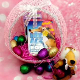 String Easter Egg Basket