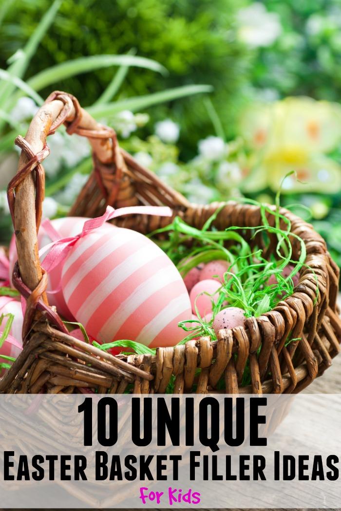 Unique Easter Basket Filler Ideas For Kids