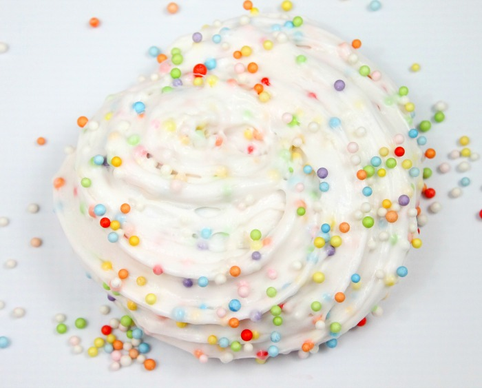 Birthday Cake Slime