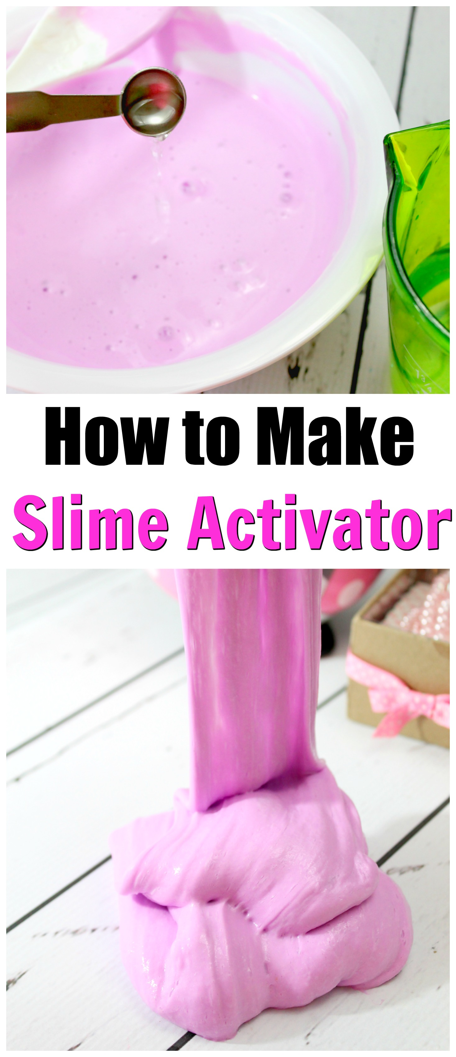 How To Make Slime Activator With Laundry Detergent | Howsto.Co - photo#13