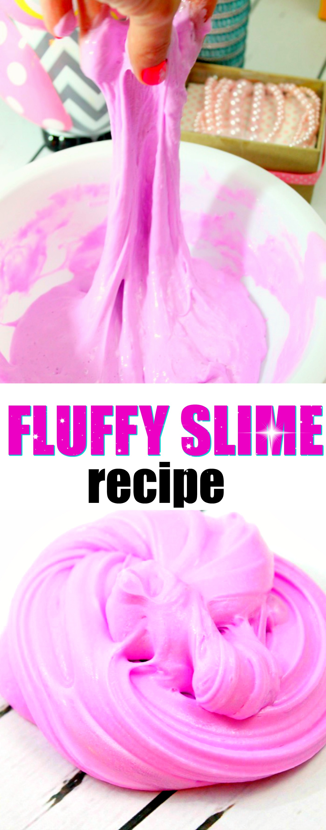 How To Make Fluffy Slime Stretchy