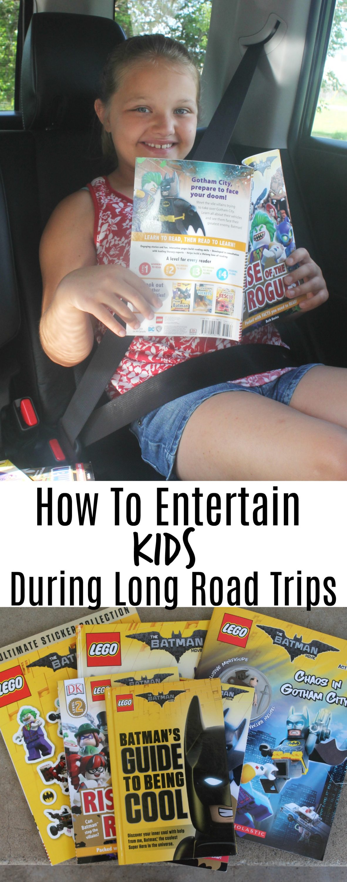 Tips on How to Entertain Kids During Long Road Trips. Road Trip Activities.