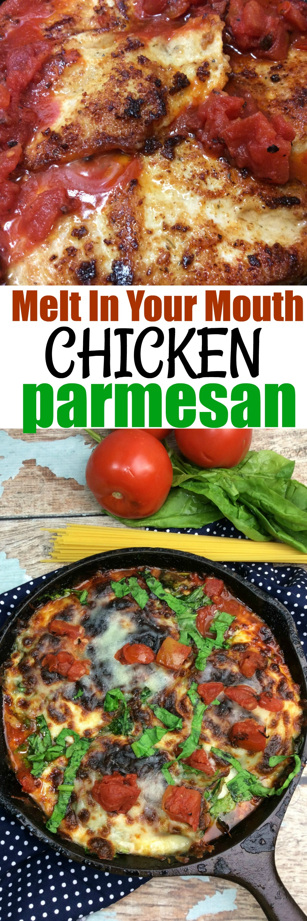 This Chicken Parmesan Recipe Is A Super Easy Recipe That Is Kid Friendly This Chicken