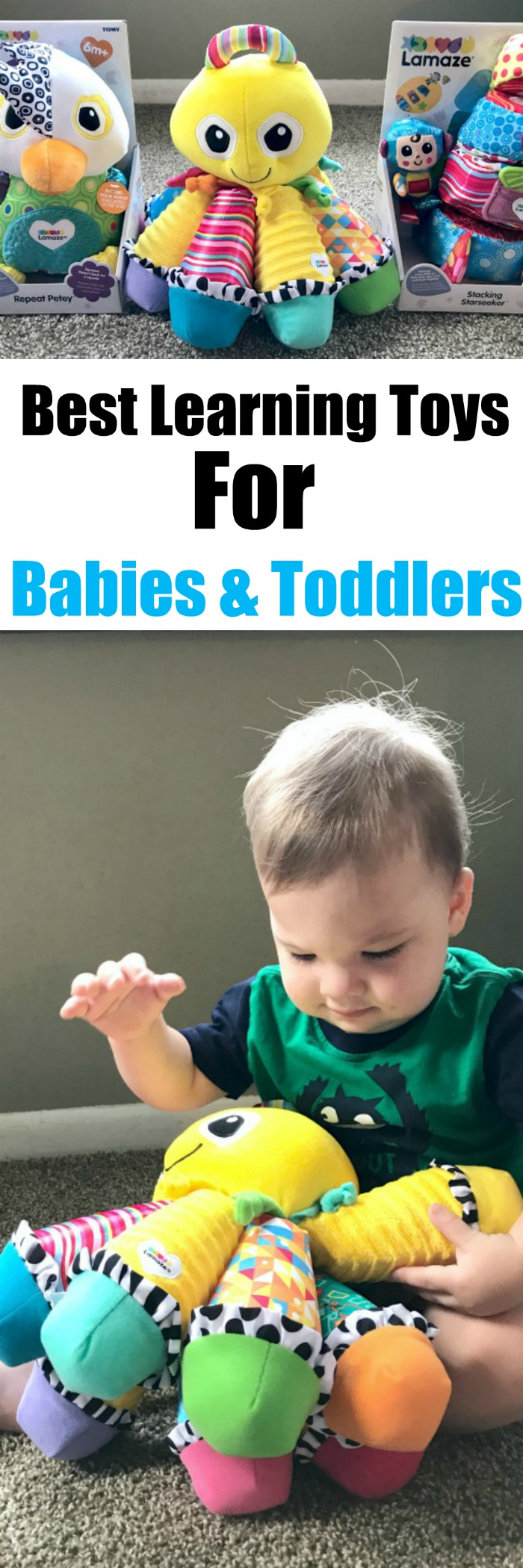 Learning Toys for Babies and Toddlers