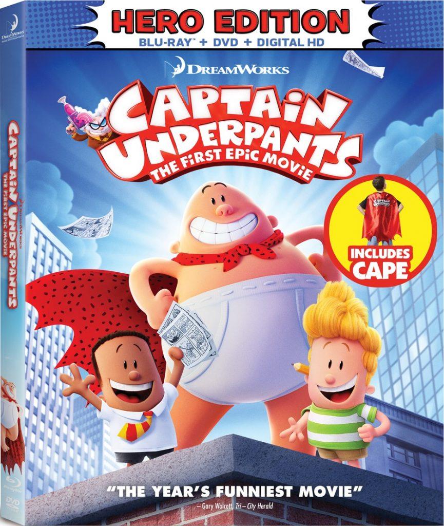 Captain Underpants Movie Cover