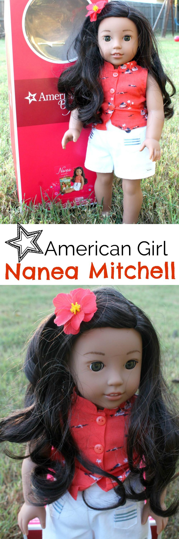 Meet the new 2017 American Girl BeFOREVER doll Nanea Mitchell.