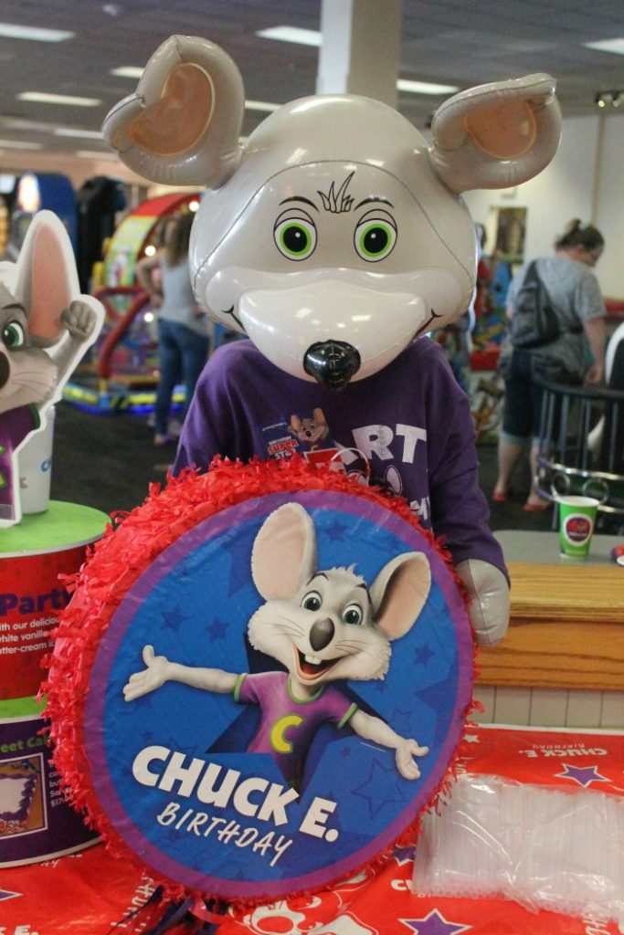 Chuck E Cheese Birthday Party Extras