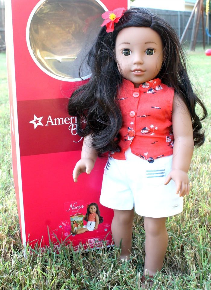564756eba8a94 Nanea Mitchell The New Beforever American Girl Doll 2017