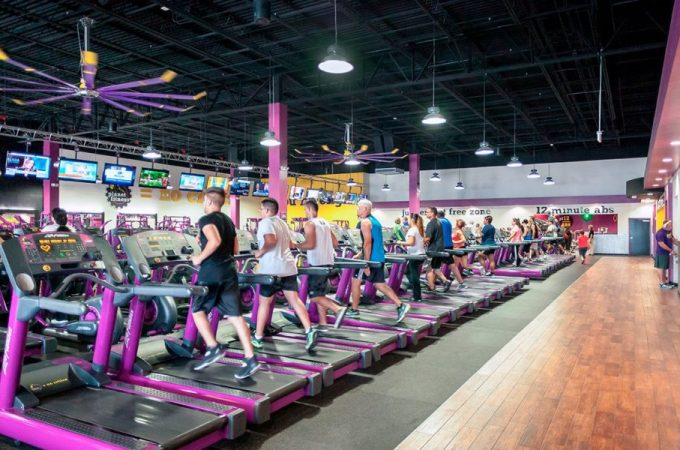inside planet fitness machines