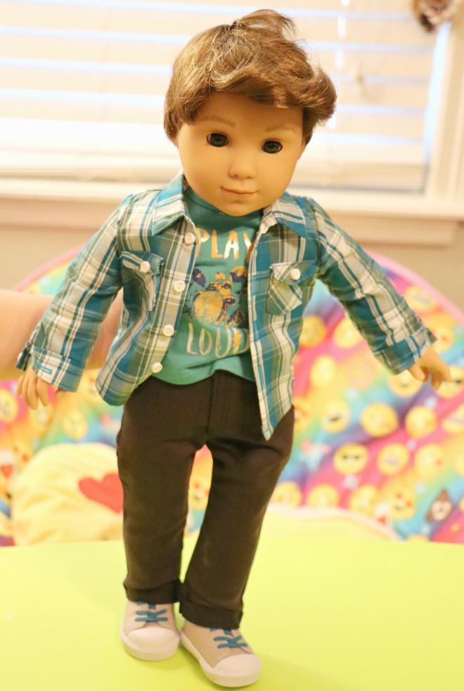 American Girl Boy Doll Logan Everett