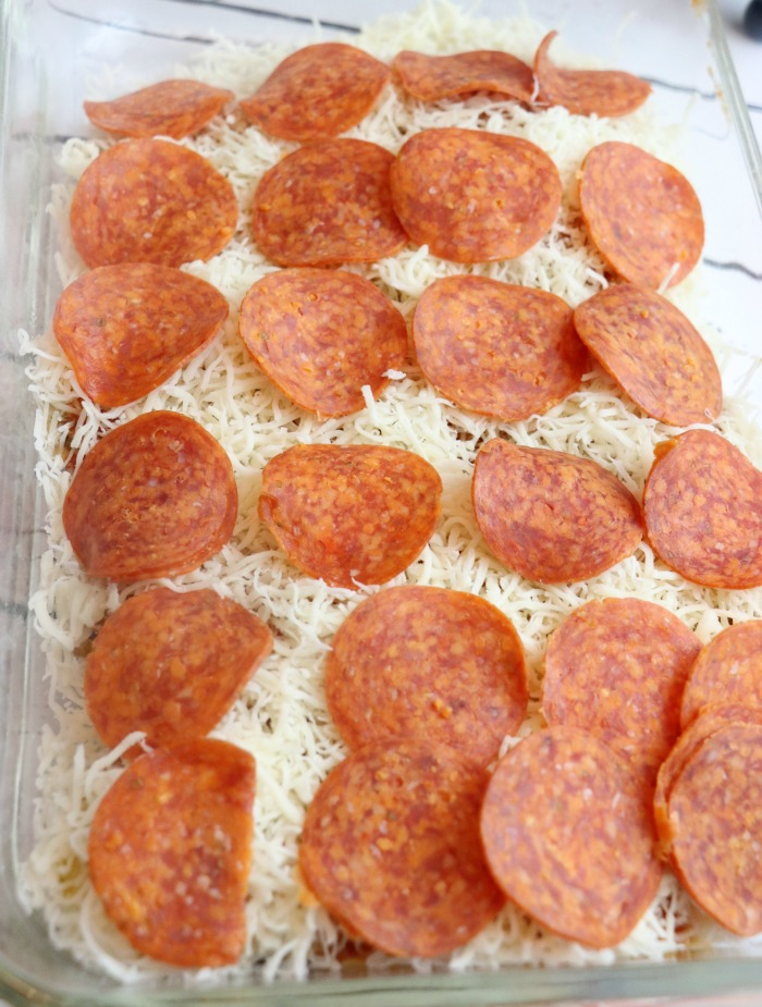 How to make pizza chicken bake
