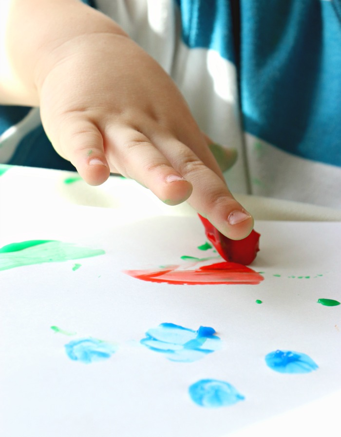 homemade finger paint recipe