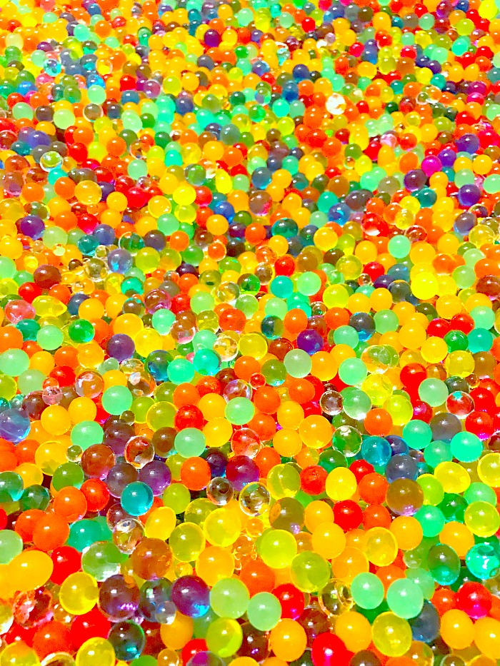 Millions of Colorful Orbeez Waterbeads