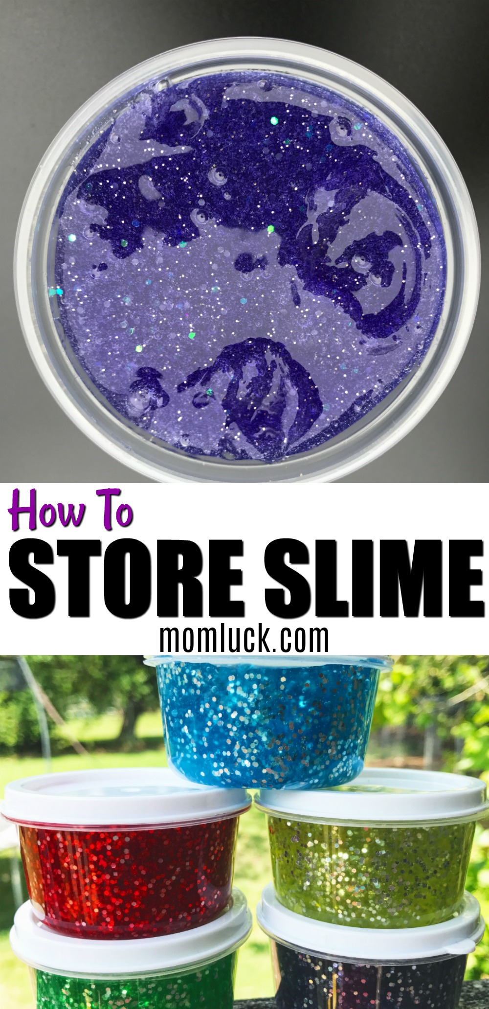 How to Store Slime- Keep Slime Fresh with these Plastic Slime Containers