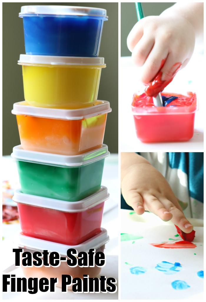 taste safe finger paints
