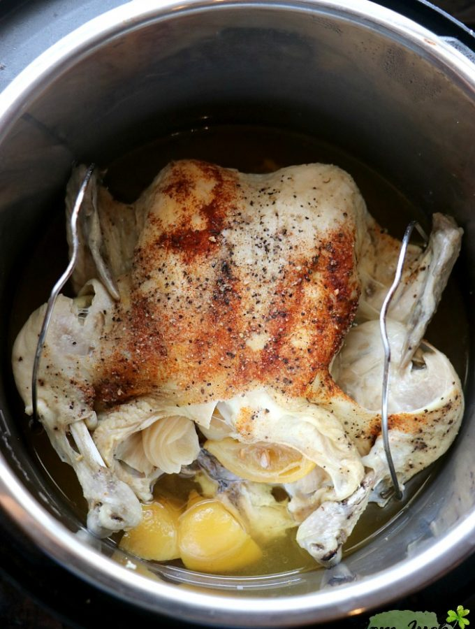 EASY Instant Pot Whole Chicken Recipe