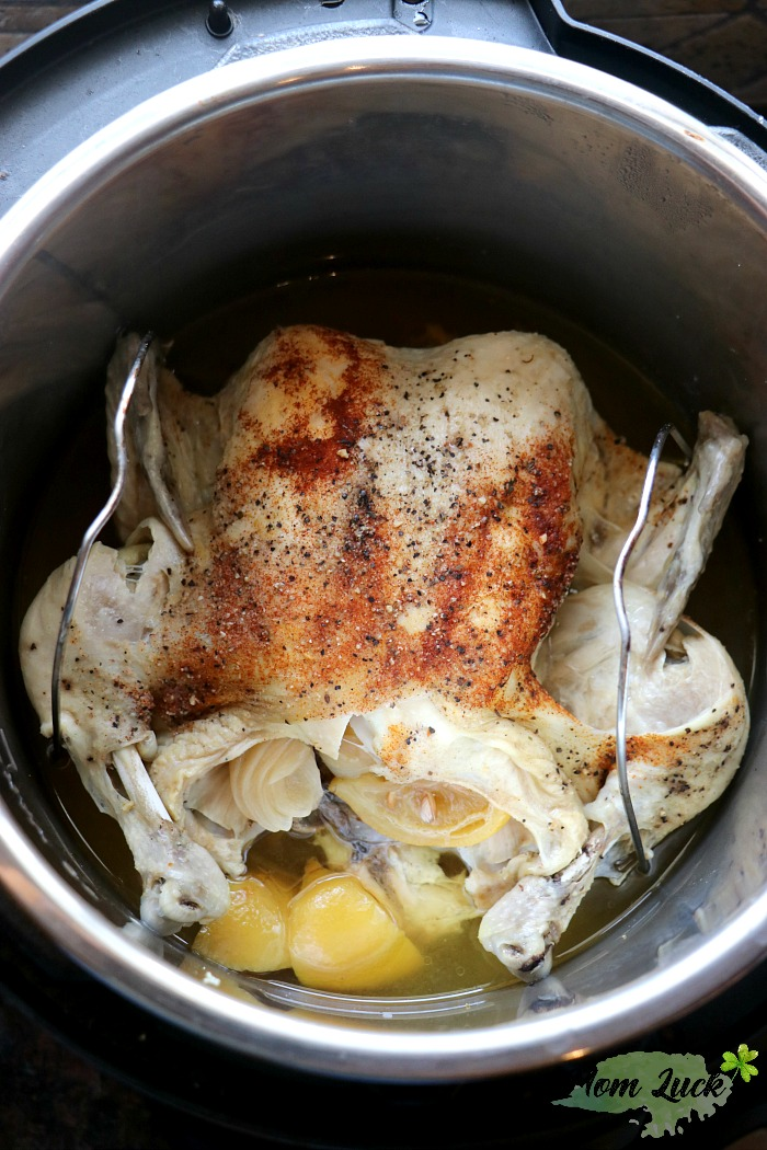 how to cook whole chicken in instant pot